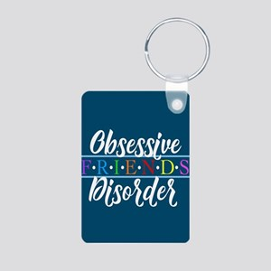 Obsessive Friends Disorder Aluminum Photo Keychain