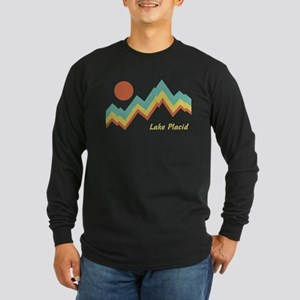 Lake Placid Long Sleeve Dark T-Shirt