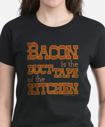 Bacon Kitchen Duct Tape T-Shirt