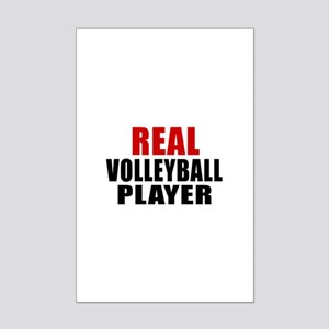Real Volleyball Mini Poster Print