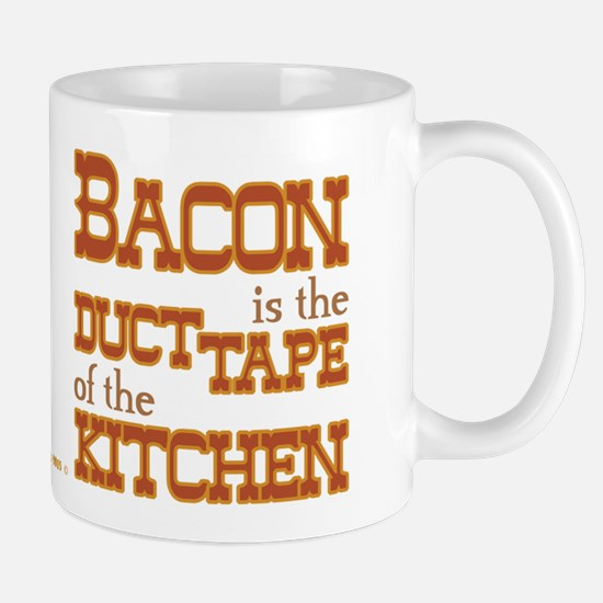 Bacon Kitchen Duct Tape Mug Mugs