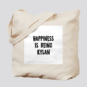 Happiness is being Kylan Tote Bag