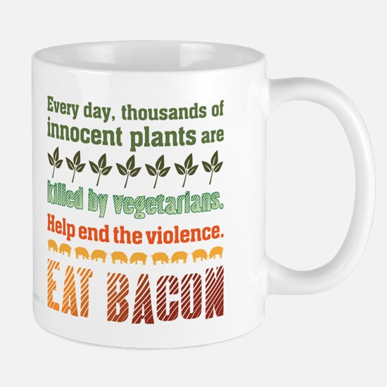 Bacon Vegetarian Mug Mugs