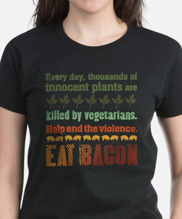 Bacon Vegetarian T-Shirt