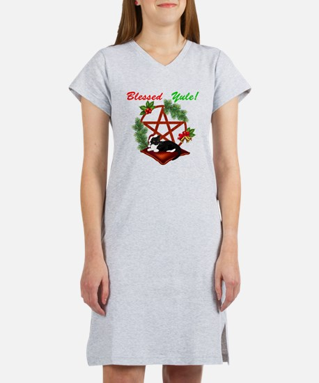 Blessed Yule Cat T-Shirt