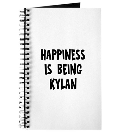 Happiness is being Kylan Journal