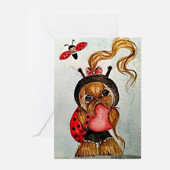 Lady Bug Greeting Cards