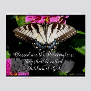 Blessed are the Peacemakers and Swallowtail Throw
