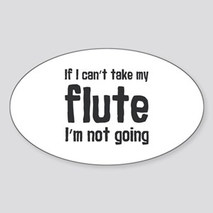 Take my Flute Sticker
