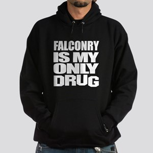 Falconry Is My Only Drug Hoodie (dark)