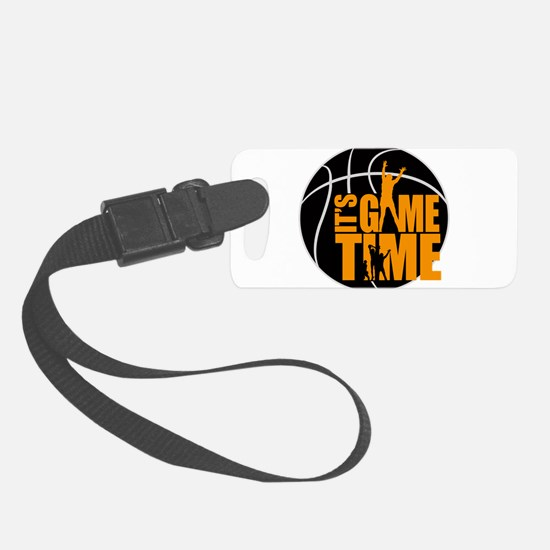 It's Game Time - Yellow Luggage Tag