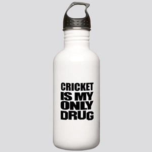 Cricket Is My Only Dru Stainless Water Bottle 1.0L