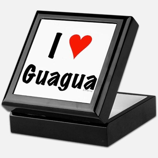 I love Guagua Keepsake Box