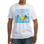 SCUBA No No Fitted T-Shirt