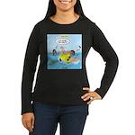 SCUBA No No Women's Long Sleeve Dark T-Shirt