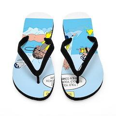 SCUBA No No Flip Flops