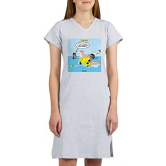 SCUBA No No Women's Nightshirt
