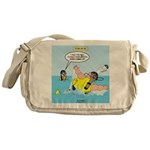 SCUBA No No Messenger Bag