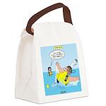 SCUBA No No Canvas Lunch Bag