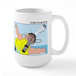 SCUBA No No Large Mug
