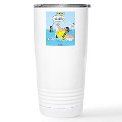 SCUBA No No Stainless Steel Travel Mug
