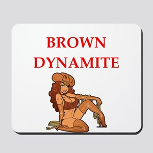 brown Mousepad