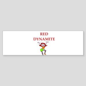 dynamite Bumper Sticker