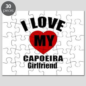 I Love My Capoeira Dancer Girlfriend Puzzle
