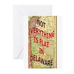 Flat Delaware Greeting Cards (Pk of 10)
