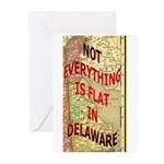 Flat Delaware Greeting Cards (Pk of 20)