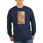 Flat Delaware Long Sleeve Dark T-Shirt