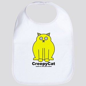 Creepy Cat Bib