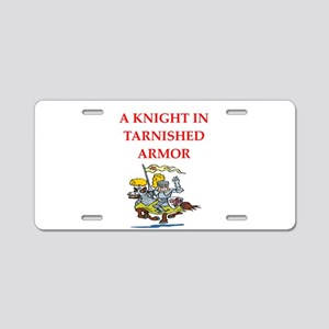 knight Aluminum License Plate