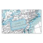 Lake Pennsylvania Rectangle Sticker