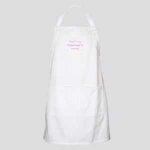 Asperger's Showing pink BBQ Apron