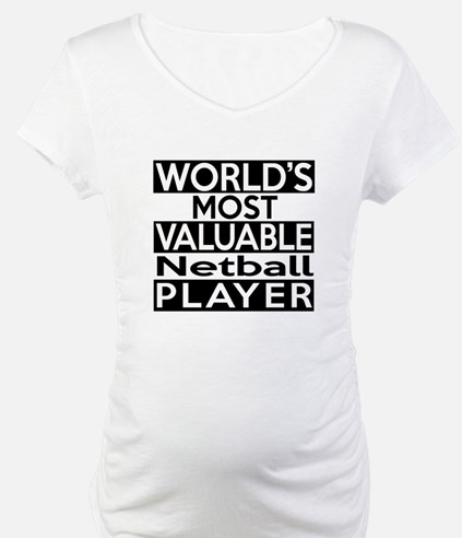 Most Valuable Netball Player Shirt