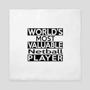 Most Valuable Netball Player Queen Duvet