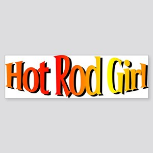 Hot Rod Bumper Sticker