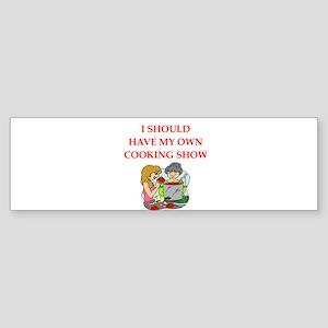 cook Bumper Sticker