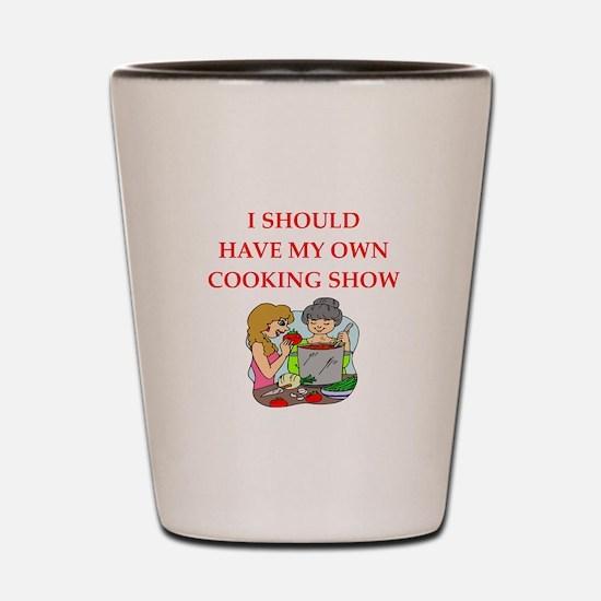 cook Shot Glass