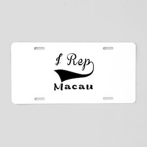 I Rep Macau Aluminum License Plate