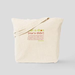 Marathon Defined Tote Bag