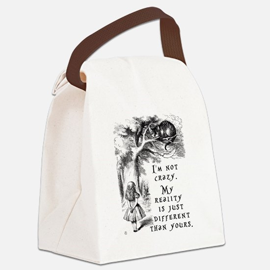 Cute Reality Canvas Lunch Bag
