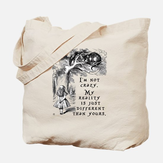 Unique Through looking glass Tote Bag