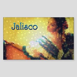 Estrellita de Jalisco Rectangle Sticker