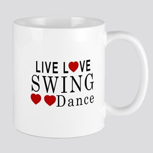 Live Love Swing Dance Designs Mug