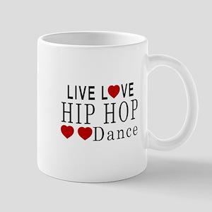 Live Love Hip Hop Dance Designs Mug