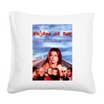 Shades of Day - poster Square Canvas Pillow