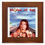 Shades of Day - poster Framed Tile
