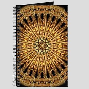 Earth Crystal Mandala Journal